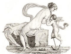 FOT423484 (phaeded216) Tags: boy baby love beauty century greek hope worship erotic venus roman goddess eros human engraving devotion anchor aphrodite cupid winged fertility mythology 19th pudgy suckling putto putti