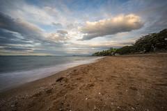 A Stroll Down Cheltenham Beach (duncan_mclean) Tags: seascape beach landscape evening sand auckland devonport cheltenhambeach