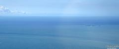 Bleu des les de la mer (photos.osmose) Tags: voyage mer eau bleu nuages plage navigation les