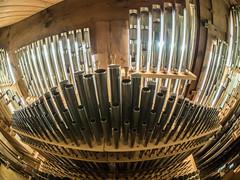 organ of St. Xaver, backstage (Kristoffersonschach) Tags: kirche olympus orgel omd mft leoben stxaver