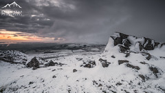 Rocks and Snow (.Brian Kerr Photography.) Tags: light sunset snow cold weather frozen rocks outdoor freezing cumbria crags landscapephotography hartsidepass briankerrphotography briankerrphoto sonyuk a7rii
