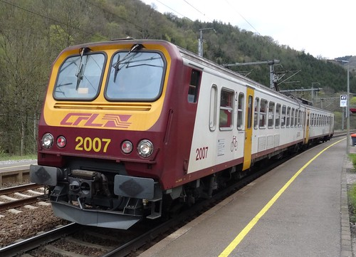 CFL Trainset N° 2007.