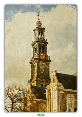 DE WESTERKERK in AMSTERDAM (rgisa) Tags: church netherlands dutch amsterdam prinsengracht glise kerk protestant kirk reformed westerkerk