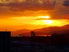 A smouldering West Coast sunset (peggyhr) Tags: ocean sunset canada mountains vancouver clouds bc silhouettes howesound lionsgatebridge soe thegalaxy peggyhr heartawards shieldofexcellencelevel1 thegalaxyhalloffame thelooklevel1red thelooklevel2yellow niceasitgets~level1 frameit~level01~ mothernature super~sixbronzestage1 dsc04521a