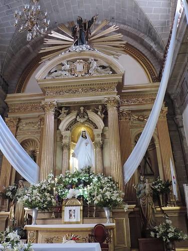 Altar Mayor, Templo de San Pablo, Centro Histórico, Cdad. de México, CDMX.