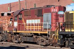 IMG_9729 (rmssch89) Tags: old 3 mountains diesel pennsylvania antique smoke iii rusty class shops scrap deadline alco pocono shortline