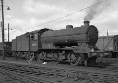 Gresley  6F  J38  65915  at Dundee Tay Bridge  (62B)  shed (rac819) Tags: steam railways britishrailways steamlocomotives uksteam brsteam