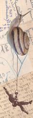 slow progress : los dias contados (kurberry) Tags: collage cutpaste vintageephemera losdiascontados analoguecollage