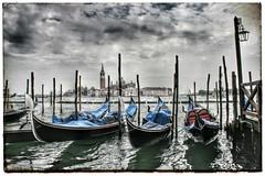 Venice (k8rry) Tags: venice italy canal unescoworldheritagesite venezia gondolas gondoles snapseed