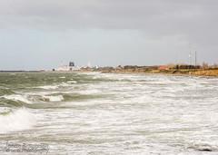 Windy (johanbe) Tags: ocean sea storm water ferry denmark nikon waves shoreline windy tamron danmark frja vgor gedser strmy strandkant blsigt danmarkssydspets