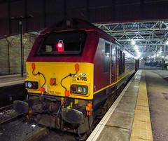 67016 Edinburgh waverley,14.3.16 (Mike stanners) Tags: train skip dbs ews