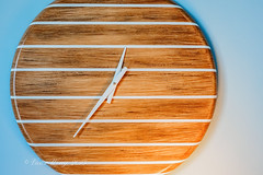 Analog wall clock (Victor Wong (sfe-co2)) Tags: white history alarm clock face wall analog speed circle design wooden office hands day symbol pointer time background object watch stripe business busy timepiece hour future second precision late hours analogue concept tick moment timer deadline schedule isolated twelve urgent minute measurement accuracy