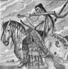 2016-04-15 (15) 'A Game of Thrones' coloring book (JLeeFleenor) Tags: photos photography md bowie bowiemd agameofthrones coloring book coloringbbo hobby art imagination perception stressrelief fiction fantssy literary fun bw monochrome blackwhite horses thoroughbreds equine equestrian cheval cavalo cavallo cavall caballo pferd paard perd hevonen hest hestur cal kon konj beygir capall ceffyl cuddy yarraman faras alogo soos kuda uma pfeerd koin حصان кон 马 häst άλογο סוס घोड़ा 馬 koń лошадь maryland