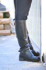 2016-01-03 (70) boots at Laurel Park (JLeeFleenor) Tags: girls woman black photography donna md shoes boots photos femme mulher maryland footwear frau vrouw buckles dona wanita    kneehigh kvinne   nainen kobieta footgear   kvinde ena  kvinna kadn n lamujer    marylandhorseracing  marylandracing ngiphn