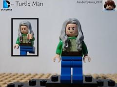 Turtle Man (RandomPanda_0611) Tags: comics book dc comic lego fig character books super hero figure superhero characters heroes minifig minifigs superheroes figures figs minifigure minifigures
