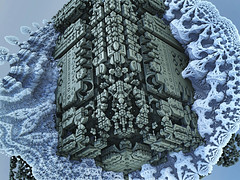 MutaGenEB8ACFA67F6E4FC803EC2 (ixus960) Tags: chaos fractal fractales fractale mecanic mandelbulb biomecanoid