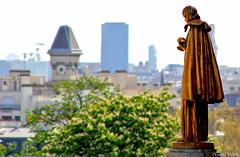 Paris City view from golden statue (gustaf wallen) Tags: paris france bird girl lady french gold peace thegoldenstatue pariscityviewfromgoldenstatue pariscityviewatnoon