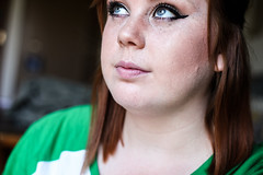 Self Portrait (supimtaylor23) Tags: me myself indianapolis makeup redhead cateye supimtaylor