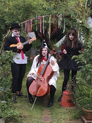 THREE @wrongsemble @SalfordArts Wednesday 27 July 2pm #Salford #children #GMFringe (gmfringe) Tags: new uk family trees summer england people nature festival garden children manchester tickets three actors ribbons comedy cheshire ukulele northwest theatre britain stage clown events yorkshire livemusic performance hats makeup july lancashire bee entertainment cello trailer juggle northern instruments drama goldilocks fables storytelling 2016 earlybird yarns rumpelstiltskin salfordartstheatre whatson grimmsfairytales gmfringe greatermanchesterfringe wrongsemble threewanderers