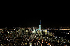 (Gregry) Tags: city nyc night long exposure view manhattan scape