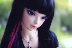On a short visit (Calfuraay) Tags: eyes doll skin ns vampire twin sd wig bjd normal fairyland lockhart mako f60 lacrima fm60 14mm seraphina feeple60 moon020 fantyfoo