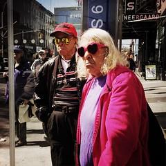 Harold & Maude (ShelSerkin) Tags: street nyc newyorkcity portrait newyork candid streetphotography squareformat gothamist iphone mobilephotography iphoneography shotoniphone hipstamatic shotoniphone6