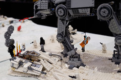 INSIDE the BRICK Darebin 2016: AT-AT (Andrew D2010) Tags: starwars lego walker atat hoth minifigures iceplanet insidethebrick darebinartsentertainmentcentre