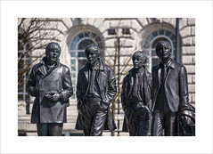 Paul, George, Ringo and John (andyrousephotography) Tags: liverpool john paul george waterfront statues ringo sculptures pierhead sculptor thebeatles fabfour andyedwards thecavernclub