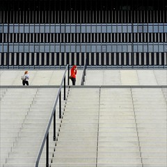 . (me*voil) Tags: friends lines architecture stairs marseille stadium stripes photographers stadevelodrome jibbr
