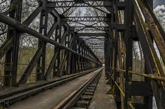Llegaramos a Astorga? (Batide Machado) Tags: espaa train tren puente spain zamora astorga castilla hierro castillaylen ferroviario benavente puentedehierro vas