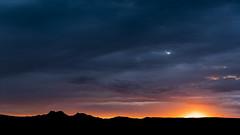 Les Alpilles (Lodevian) Tags: sunset nuages paysage couchdesoleil lesalpilles