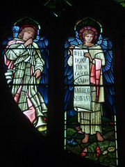Angels, Brampton (Aidan McRae Thomson) Tags: church window stainedglass cumbria brampton preraphaelite burnejones