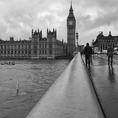 My favorite spot in London (meldarbordeaux) Tags: street city uk blackandwhite white black london square cityscape unitedkingdom bigben squareformat bigb iphoneography instagramapp uploaded:by=instagram archilovers