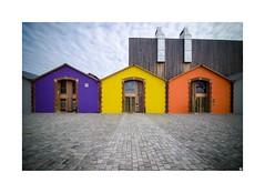 CiRCa (Isabelle) Tags: architecture couleurs ciel nuages pavs auch gers midipyrnes