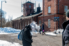 Snowball (LiveToday84) Tags: trip travel winter sea ice water island boat frozen helsinki north suomenlinna d80