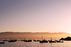 Atardecer (David_Miranda) Tags: chile nikon barcos pacifico oceano sudamerica pescadores valdivia