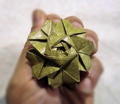 Rosa Rococ (Pentagonal) (joseferreira3) Tags: work name young rosa livro author vera jos diagrama koti ferreira rococ pentagonal flaviane oorigamieotempo