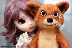 I'll take those... (pure_embers) Tags: uk friends brown cute girl doll dolls sweet sadie smoking wig fox pullip cigarettes luts pure embers rosy needlefelt obitsu rosybrown stica bymagic pureembers