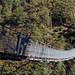 Imposante Hängebrücke