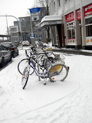 bicycles Herford Germany 26th January 2014 snow  26-01-2014 12-20-12 (dennoir) Tags: snow germany january bicycles herford 26th 2014 26012014 1220013