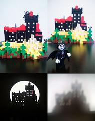 Bran / Dracula's castle MOC (Alex Tass) Tags: playing building castle play lego bricks dracula haunted ghosts vampires bran draculascastle moc brancastle bramstoker talex myowncreation rolug myownconstruction