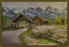 Rustic Church (AKS1020) Tags: texture nature landscape outdoors jacksonholewyoming rusticchurch nikond7100 anedasmith