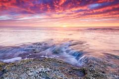 160102 - Cabo Cervera (5) (naturephoto_es) Tags: longexposure clouds sunrise cabo cloudy amanecer nubes olas rocas cabocervera
