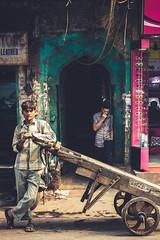 The smoker (www.facebook.com/AarSeePhotography) Tags: work break market cigarette streetphotography smoking labour chandnichowk beedi tendu