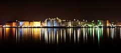 The harbour never sleeps (Ruud_388) Tags: industry rotterdam harbour oil nightshots vopak europoort