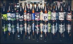 """""""a sent la bire, dieu qu'on est bien !"""" (Paucal) Tags: leica reflection beer vintage bokeh polish reflet alcool cheers ipa effect jacques sant biere m9 polonaise jarrive brel binouze summilux35 infiniment"""