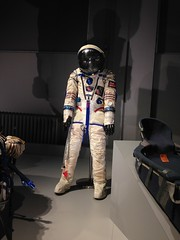 Helen Sharman's suit (Inkysloth) Tags: london industry museum technology space astronaut science cosmos sciencemuseum cosmonaut spacescience