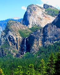 Bridal Veil (sdowens19631) Tags: california beautiful landscape yosemitenationalpark bridalveilfalls monoliths