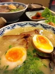 Ramen set from Yoshimaru ramen bar (Rachel Toh) Tags: food soup egg ramen noodle japanesefood