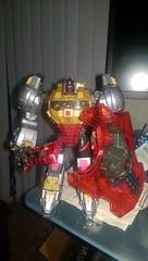Planet-X: Fall of Cybertron: Grimlock (Tumbler2) Tags: slag sludge swoop snarl grimlock planetx fallofcybertron planetxdinobots